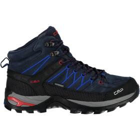 CMP Campagnolo Rigel WP Mid Trekking Shoes Men, black blue-royal
